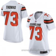 Dam Cleveland Browns Game Borta NFL Tröjor Joe Thomas..
